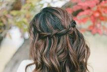 Tresses / hair styles, braids, up-dos, styling, wavy