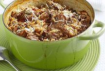 Food: casseroles & one pot meals