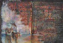Sketchbooks and Art Journals / by Rachael Caringella- Artist, Mystic, Oracle