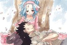 GALE♥ / Fairy Tail couple ♥  Gajeel Redfox ♥ Levy McGarden