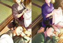 Shikatema♥ / Naruto couple ♥  Shikamaru Nara ♥ Temari