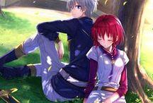Zen and Shirayuki♥ / Akagami no Shirayukihime couple♥  Zen Wistaria ♥ Shirayuki ♥