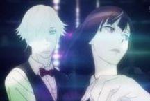 Decim and Chiyuki♥ / Death Parade couple ♥  Decim ♥ Kurokami no Onna