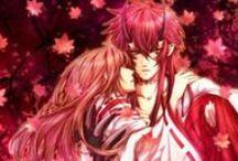 Takuma and Tamaki♥ / Hiiro no kakera couple ♥  Onizaki Takuma ♥ Kasuga Tamaki