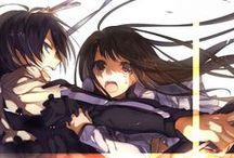 Yato and Hiyori♥ / Noragami couple ♥  Yato ♥ Hiyori Iki ♥
