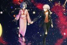 Kaneki and Touka♥ / Tokyo Ghoul couple ♥  Kaneki Ken ♥ Touka Kirishima