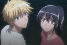 Usui and Misaki ♥ / Kaichou wa Maid-sama couple♥  Takumi Usui ♥ Misaki Ayuzawa