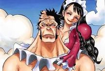 Sai and Baby 5♥ / One Piece couple ♥  Sai ♥ Baby 5♥