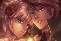 Battler and Beatrice♥ / Umineko no Naku Koro ni ♥  Battler Ushiromiya ♥ Beatrice