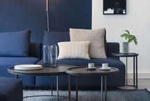 blue / Interior
