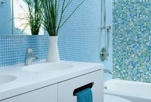 Bathroom Inspiration / Chic yet hardworking bathrooms will elevate your home decor. Try a few of these ideas and spruce up your space.