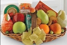 Gift Baskets / Some may not like flowers, but everyone loves a tasty treat!