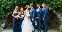 Celebrations & Receptions / These brides and grooms pulled through great color schemes, parties, receptions, and all the little details. Don't miss the special touches that brought these ladies and gentlemen together!