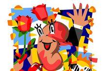 30 anni del Giornale Italiano di Nefrologia, settembre 2013 / Ugo Nespolo firma la copertina del numero speciale dei 30 anni del Giornale Italiano di Nefrologia. L'evento di presentazione si è tenuto martedì 17 settembre 2013 presso la sala conferenze del Circolo dei Lettori, a Torino.