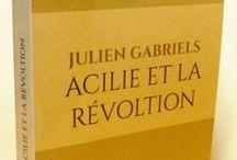 Galerie photos / Couvertures des romans de Julien Gabriels