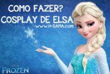 FROZEN - Elsa Snow Queen cosplay tutorial / Cosplay / fantasia da Princesa Elsa de Frozen