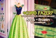 FROZEN - Anna ( Coronation Green Dress)