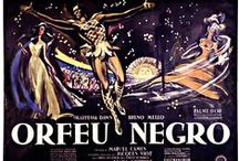 Black Orpheus Poster Collection / Posters designed for releases of the Black Orpheus (1959) Marcel Camus film in different countries around the world. / by Black Orpheus Musical