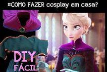 FROZEN - Elsa Coronation cosplay Tutorial