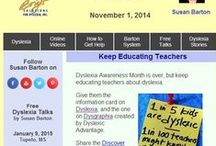 Dyslexia Newsletters / Read Susan Barton's monthly newsletters on dyslexia.