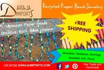 PAPER BEADS / Fair Trade Paper Beads from Uganda
