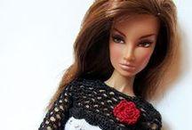Barbie/Roupas crochê e trico