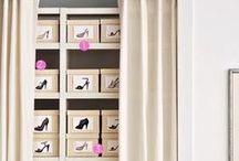 S H O E  S T O R A G E / Dieses Problem kennt jede Frau: Wohin mit den ganzen Schuhen? Hier ein Paar Ideen für die schöne Unterbringung eurer Schmückstücke!