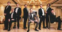 Grooms & Groomsmen / Ideas and inspiration for grooms and their groomsmen.