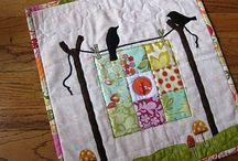 Mini-quilts & Wall hangings / Table top ideas for Penney