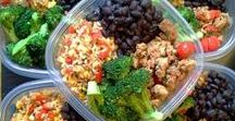 Healthy Meals / Breakfast, lunch, and dinner ideas for the health conscious.