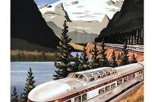 Vintage Travel Posters / Vintage travel posters and vintage style travel posters