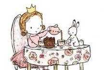 Tea and Princess Party / Una hermosa fiesta para una hermosa niña, que mejor manera de celebrarle a tu princesa con una fiesta temática con elegancia / by Paty Cuenca ♥ ♥ ♥