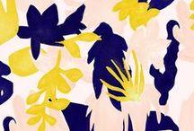 Prints / des traces, pois, géométrie en tout sens, rayures caché et rythme animal, floral et aquatiqUE