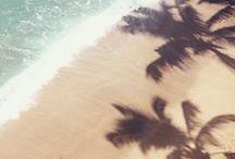 summer paradiz / grain de sable sur la peau, à l'ombre du soleil, hâle doré et couleurs aux reflets de l'été, imprimés des tropiques
