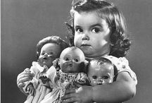 dolls -- and their children / by Amy Wilburn