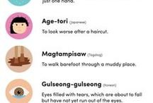 Awesome Language Facts / A selection of awesome facts about languages from all over the world.