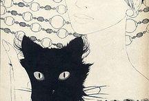 Cats, I ❤️ Cats. / Cats, gatos. / by Dayan Cruz Ibinarriaga