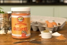 Homemade Fresh & Creamy Butter Kit / Homemade butter is super easy! / by Roaring Brook Dairy