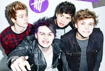 5 seconds of summer!!! <3 / My future husbands!! <3 <3 / by Erika Hemmings