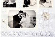 Black & White Layouts / Scrapbook ideas and inspiration for Black & White photos and black and white pages.
