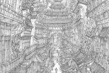 dessins / des dessins surtout mangas car j'adore ça si vous en voyer d'autres envoyez les moi !