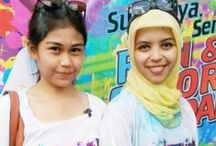 Surabaya Run and Color Party / Happiness