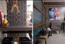 Small Spaces / Squeeze some love into your shoebox home!