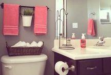 for the home - BATH / bathroom decor inspiration