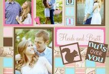 Adding Patterned Paper / Mosaic Moments scrapbook ideas with patterned paper. Although we want to keep the focus on our photos, we also love collecting scrapbook paper to decorate our pages!