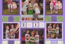 Purple Scrapbook Layouts / Is purple your favorite color? This is the board for you! Find many scrapbook page ideas featuring this fabulous color.