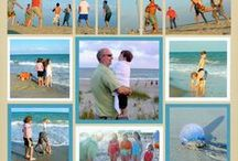Beach Scrapbook Layouts / Get scrapbook page ideas for the beach! Lots of inspiring beach scrapbook ideas can be collected on this board.