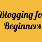 Blogging for Beginners / If you're a beginner blogger, you probably have countless questions about how to start your blog. This board includes tips and ideas to help you get started the right way.