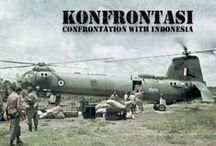 Konfrontasi / Brunei Revolt 1962 and Borneo Confrontation 1963-66