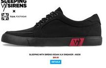 ♪ SWS x T.U.K. ♪ / We are super excited to announce that we have teamed up with an amazing band we've loved for a long time – SLEEPING WITH SIRENS! They have been rocking our Creepers & Sneakers for a while now, but we wanted to take it to the next level and an idea sparked… A COLLABORATION SNEAKER!!! - get your LIMITED EDITION pair today here - http://www.tukshoes.com/sws